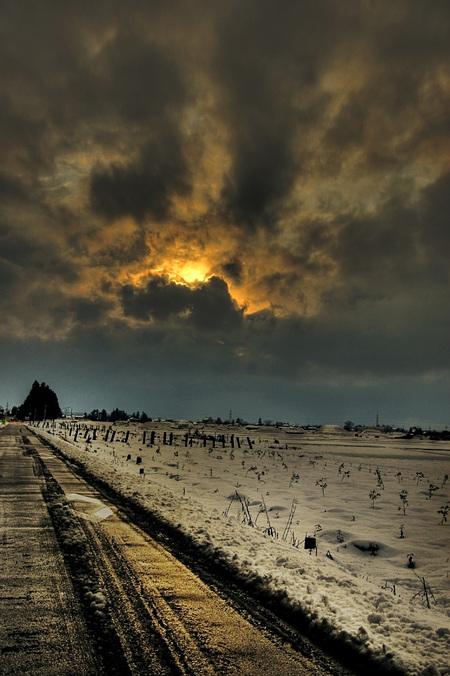 雪景色HDR2